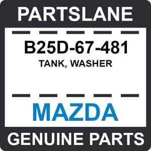 B25D-67-481 Mazda OEM Genuine TANK, WASHER