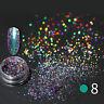 Chameleon Mirror Chrome Effect Nail Art Powder  Pigment Glitter Tips DIY