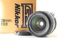 [Exc+5 in BOX] Nikon Nikkor Ai-s 28mm f/2.8 Ais Wide Angle MF Lens From JAPAN