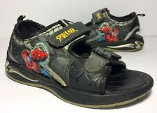 SPIDERMAN Boys Adjustable Strap Sandals (Youth size 1.5)