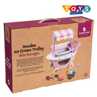 New Wooden Ice Cream Trolley Playset Free Delivery