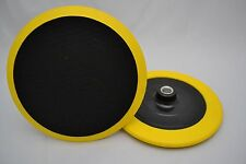 """7""""  Backing Plate Hook and Loop Professional Rotary Polisher Buffer"""