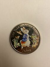 More details for 2007 isle of man 1 crown coin the tale of peter rabbit coloured