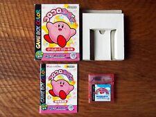 Kirby Tilt 'n' Tumble, with gyro sensor! /gbc cib koro complete box manual japan