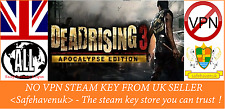 Dead Rising 3 Apocalypse Edition Steam key NO VPN Region Free UK Seller