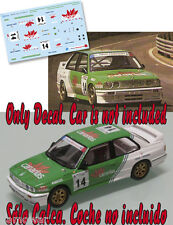 Decal 1:43 Jose Maria Ponce - BMW M3 - CET 1992