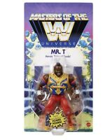 Mr. T Masters Of The WWE Universe MOTU Wrestling Actio Figure Pre Order Mattel