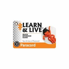 Ultimate Survival Technologies Learn & Live Paracord Cards Pocket Reference