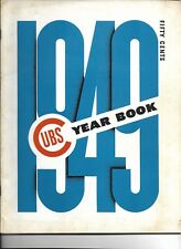 1949 Chicago Cubs Yearbook EXCELLENT!!