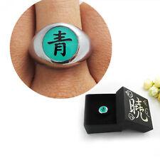 Anime NARUTO Akatsuki Member Deidara Qing Metal Finger Ring Cosplay Gift & Box