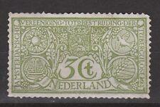 NVPH Netherlands Nederland 85 MLH ong Tuberculose 1906 Pays Bas NO GUM