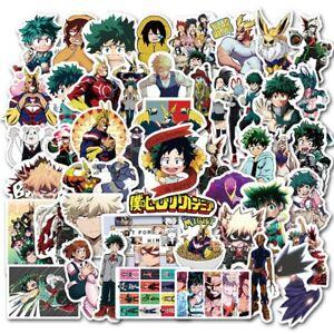My Hero Academia 50pcs stiker All Might Baku Todoroki Anime Manga Collectable