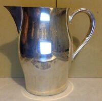 """Vintage Silver Plate. Pitcher. William Rogers. Paul Revere Reproduction. 7 1/2"""""""