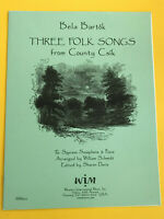 Three Folk Songs from County Csik, Bela Bartok, for Soprano Sax & Piano