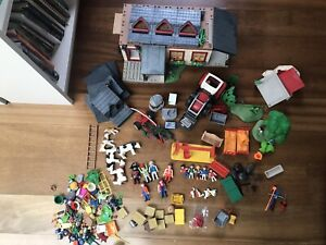 Playmobil Big Farm House Bundle. 100+ Animals, Figures, Accessories
