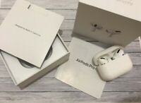Apple AirPods Pro  White,With Wireless Charging Case ,New,Sealed,Refurbished