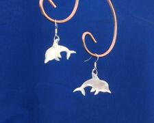 Ohrringe Delfin, echtes Perlmutt, Naturmaterial, Handarbeit, dolphin, Delphin