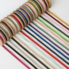 NEW 15mm x 10M COTTON TWILL RIBBON - 17 COLOURS