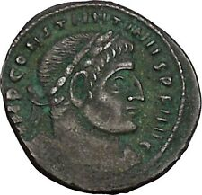 CONSTANTINE I the GREAT 313AD Ancient Roman Coin Sol Sun God Cult  i42395
