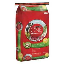 Purina One SmartBlend Lamb Rice Dry Dog Food - 40lbs