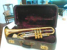 1939 Frank Holton Trumpet.#48 Revelation. Elkhorn Wis. One Owner.