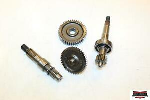 2007 Genuine Scooter Co. Buddy 125 Transmission Shaft Gear Gearbox 11411000001