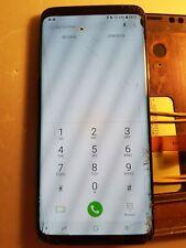 Ecran LCD SAMSUNG GALAXY S9+ G965 - vitre cassée + défaut - S9+5