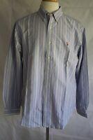 RALPH LAUREN Men's Long Sleeve Classic Oxford Button Down Dress Shirt Size L
