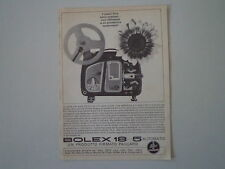advertising Pubblicità 1963 BOLEX PAILLARD 18-5