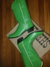 womens leather cowboy boots size 8