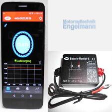 JMP Batterie Monitor 2 Motorrad  Smartphone Handy App Überwachung Bluetooth II