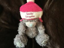 ME to Speciale Grande Figlia Orso Rosa E Bianco Cappello Lavorato a Maglia Sherpa
