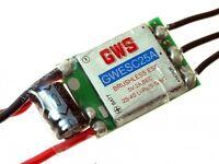 GWS Brushless ESC 25A