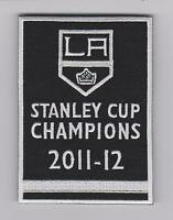 Los Angeles Kings Jersey Patch 2012 Stanley Cup Champions LA kings Banner patch