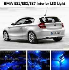 BLUE PREMIUM BMW E81 E82 E87 1 SERIES SALOON LED  INTERIOR UPGRADE KIT SET