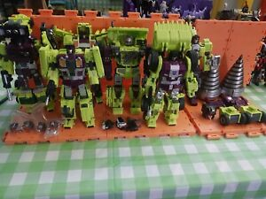 Transformers Generation Toys Devastator(GT-01) with GT-09 Upgrade Kit