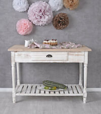 Console Table Sideboard Country Style Wall Side Kitchen Wood