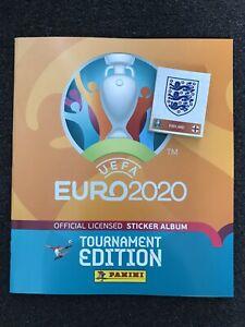 Panini UEFA Euro 2020 Sticker Album + 50 UNIQUE LOOSE UNSTUCK STICKERS New!