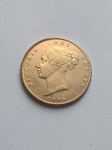 1841 retro Victoria Half Sovereign reproduction