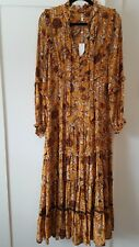 SPELL AND THE GYPSY COLLECTIVE ETIENNE MAXI DRESS SMALL BNWT