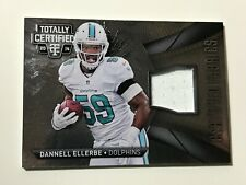 2014 Panini Totally Certified Fabrics No.CF-EL Dannell Ellerbe Miami Dolphins!!