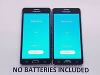 *Google Locked* Lot of 2 Samsung Galaxy On5 8GB Black (TracFone) IMEI? 2 Total