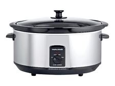 Morphy Richards 48715 6.5l Slow Cooker With 290w Power in Stainless Steel1