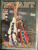 1996 THE SCORE BOARD BASKETBALL ROOKIES LOWER MERION H.S KOBE BRYANT ROOKIE CARD