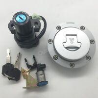 Ignition Switch Fuel Gas Cap Lock Key Kit For Honda CBR900RR/CBR929RR/CBR954RR