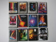 Star Trek: The Motion Pictures DVD Collection 12-DVD's LOT USED CONDITION