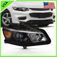 For 2016-2018 Chevrolet Malibu Halogen Headlight Assembly Parts Right Side Lamp
