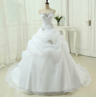 Sweetheart A Line Bridal Gown Beading White Ivory Wedding Dresses Bridal Gowns
