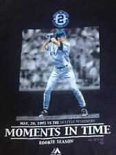 New York Yankees Derek Jeter Rookie Shirt MLB Yankee Stadium Size XL Majestic