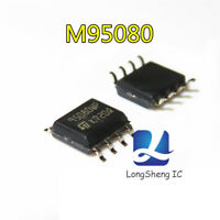 10 PCS M95080-WMN6TP SOP-8 M95080-WMN6 95080WP 16Kbit and 8Kbit Serial SPI Bus